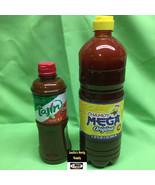 2 pcs Mexican Hot Mega Chamoy 32oz & Tajin Regular Snack Sauce 15oz - $24.50