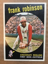 1959 Topps #435 Frank Robinson Baseball Card EX+/NM Condition Reds RF1 - $39.99