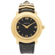 Versace VAM030016 DV-25 Round Lady Gold Black Ladies Watch - $2,577.84