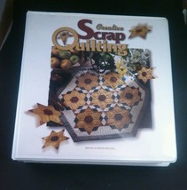 Quilting book Creative srap with patterns instructions - $14.52