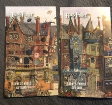 Harry Potter 2 Empty Loadable Gift Cards Barnes & Noble Collectible BOOK... - $6.92
