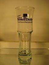 Girves Brown Derby Tall Pilsener Beer Glass 1970s-1980s - $6.16