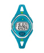 Timex IRONMAN® Sleek 50 Mid-Size Silicone Watch - Turquoise - $74.21