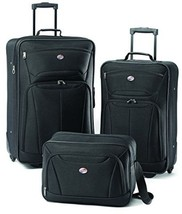Luggage Fieldbrook II 3 Piece Set Three Pack Clothes Vacation Travel Hot... - $87.86