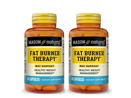 2 X 60 = 120  CAPSULES FAT BURNER THERAPY CHROMIUM PICOLINATE weight man... - $16.78
