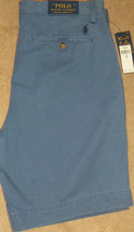 "NEW Polo Ralph Lauren Stretch Classic Fit 9"" Inseam Cotton Twill Shorts ... - $37.50"