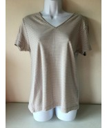 B.Moss Women's Tee Shirt Top Size Large V Neck - $9.89