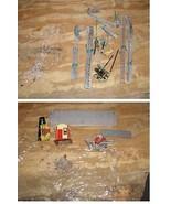 Gilbert Erector Set Pieces Lot Vintage Building Toy - $38.99