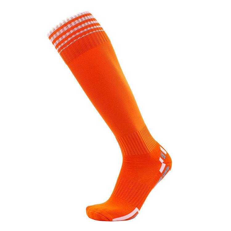 Men Socks Soccer Baseball Football Basketball Sport Over Knee High Sock A Pair