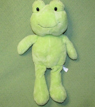 "18"" SWEET SPROUTS FROG GREEN ANIMAL ADVENTURE TARGET STUFFED PLUSH 2014 ... - $17.82"