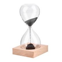 Sand Clock Timer Awaglass Hand-blown Magnetic Hourglass Crafts - $15.80