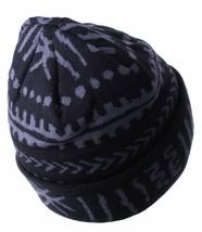 Asphalt Yacht Club Black Gray Arcane Cuff Beanie Skate Winter Hat AYC1410822 NWT image 2