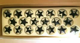 AUTHENTIC Swarovski® Crystal #8815 Star Pendant 40mm (Large), JET 24pc P... - $50.00