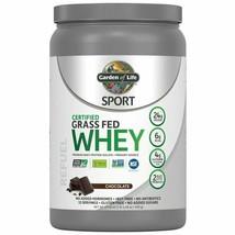 Garden of Life Sport Whey Protein Powder Chocolate 24g Protein 1.09lb, 1... - $36.62