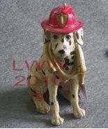 Dalmatian Fireman Dog Christmas Holiday Ornament - $7.99