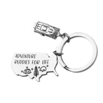 MAOFAED Camping Gift Camping Keychain RV Camper Gift Adventure Gift Adve... - $28.99