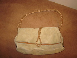 Burberry Beige Suede Convertible Hobo - Authentic - $50.00