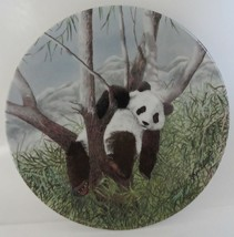Panda Collector Plate Secret World of the Panda A Lazy Afternoon - $19.99