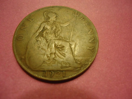 1921 English Large Penny Combined Shipping - $1.98