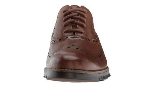 NEW Cole Haan Zerogrand Men's Size 8.5 British Tan Wingtip Oxford C24964
