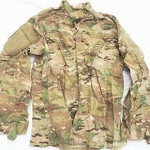 US Air Force NATO Woodland Camouflage Jacket Coat Combat Ripstop Medium Long - $24.74