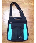 Nintendo Wii Black and Blue Carrying Case Travel Bag EUC - $39.99