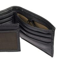 Levi's Men's Rfid Extra Capacity Zipper Coin Credit Card ID Bifold Wallet Black image 5