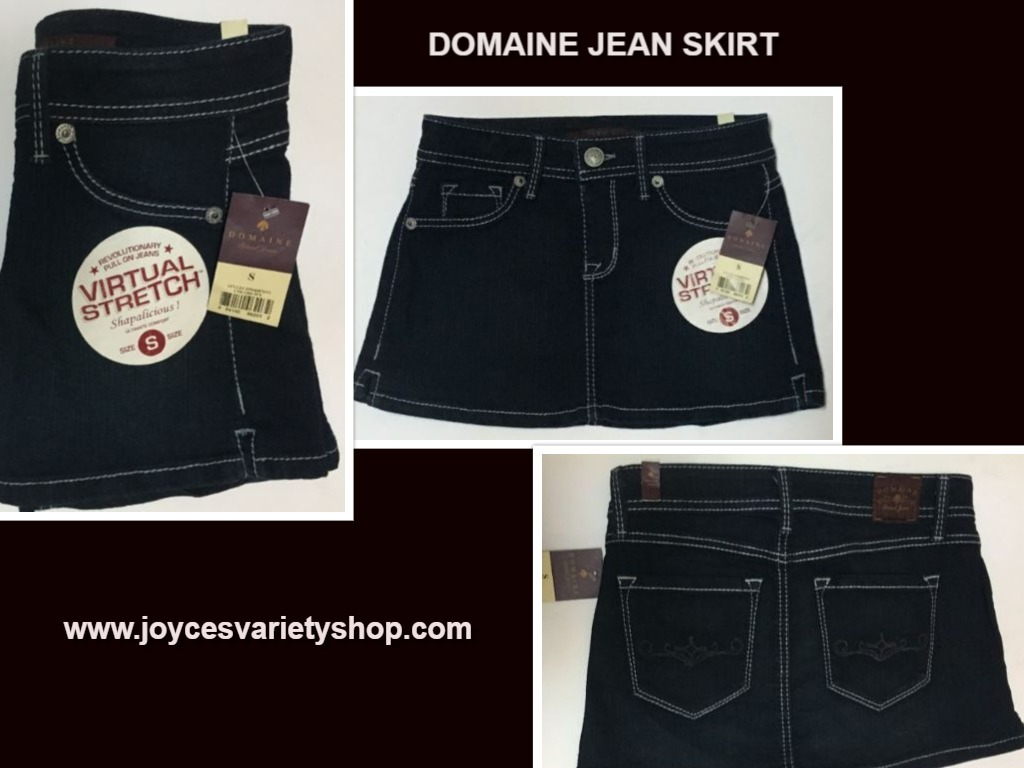 Domaine jean skirt s web collage