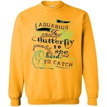 I'm A Coolest Aquarius T Shirt, Aquarius Is Like A Butterfly Sweatshirt - $16.99+