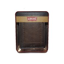 Levi's® 31LV130003 men's extra capacity slimfold wallet brown one size - $42.00