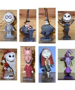 Jack sant Myaor LSB  7 bobble head ornaments Nightmare Before Christmas - $90.00