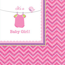 Amscan 501489 It's a Baby Girl  Beverage Napkins - $23.08