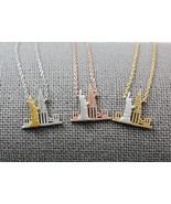New York Necklace, NY Necklace, NYC Necklace, Statue of Liberty Necklace... - $14.50