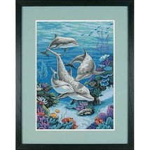Dimensions Needlecrafts Counted Cross Stitch, The Dolphins Domain - $16.33