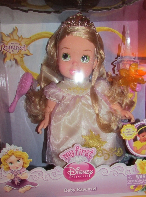 Disney Princess Tangled Baby Rapunzel Doll And 50 Similar Items