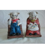 """Adorable """"Mom and Pop"""" Figurines - $10.00"""