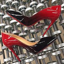 Women Pumps Red Bottom High Heels Shoes Woman Pointed Toe High Heels Sexy Red  W