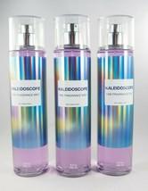 (3) Bath & Body Works Purple Kaleidoscope Rainbow Fragrance Body Mist 8o... - $52.41