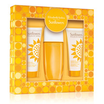 Sunflowers Edt Spray 3.3 Oz and Body Lotion 3.3 Oz and Cream Cleanser 3.3 Oz For - $22.88