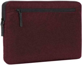 Incase Compact Nylon Sleeve for 15-Inch MacBook Pro Thunderbolt 3 - Mulberry image 1