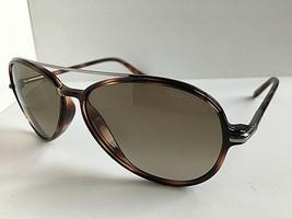 Tom Ford Ramone TF 149 TF149 52F 58mm Tortoise Sunglasses Italy T1 - $113.99