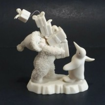 Dept 56 Snowbabies I Have Lots To Give 05975 Dated 2002 - $14.84