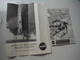 vintage kennedy space center 1969 travel brochures ephemera NASA drive-t... - $9.84