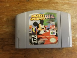 Mickey's Speedway USA (Nintendo 64, 2000) - $18.76