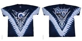 New  LOS ANGELES RAMS  Tie Dye V Dye T Shirt  LICENSED NFL TEAM APPAREL ... - $26.99+