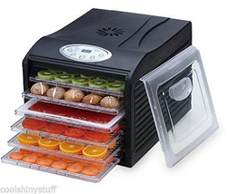 Samson Silent 6 Tray Dehydrator Digital Timer & Controls SB-106B, BPA-Fr... - £81.49 GBP