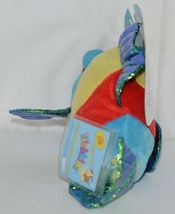 GANZ Brand Webkins Collection HM438 Rainbow Colored Plush Pucker Fish image 3