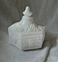 Imperial Milk Glass Covered Candy Dish - $70.56