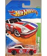 2011 Hot Wheels #62 Treasure Hunts 12/15 DATSUN 240Z Red/White w/Black M... - $19.06