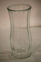 Garcia Glass Group Flower Vase Paneled Clear Glass GGG 2972 Vintage Glas... - $24.74
